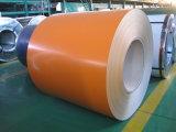 Tinct cubrió la bobina prepintada PPGI de acero galvanizada de la bobina con la flor