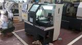 Máquina pequena econômica do torno do CNC de China
