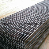Spazio o Serrated Galvanized Steel Grating, Stair Treads, Bar Grating (Manufacture a Anping)