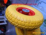 Rotella libera piana 3.50-4 della gomma piuma dell'unità di elaborazione della rotella 3.50-4 della gomma piuma dell'unità di elaborazione