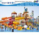 Aqua Park Game Water Slide para adultos e crianças (HD-6002)