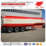 Remorque de camion-citerne d'huile de graissage du volume maximum 36cbm semi à vendre