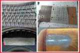 Высокоскоростная длинняя машина чистки пульсированного лазера волокна глубины фокуса для прессформы покрышки/следа железной дороги