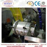 Máquina reforçada plástica macia da extrusão da mangueira da tubulação do fio de aço do PVC