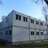 Полуфабрикат модульное здание для селитебного применения