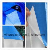 HDPEによって編まれるファブリック防水シートロール、LDPEによって塗られるPEの防水シートカバー