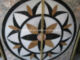 Natural Marble Stone Waterjet Medallion for Hotel Hall