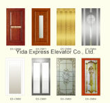 ローズGold Mirror Stainless Steel Home Elevatorが付いている贅沢