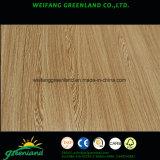 Natrure Sapele, cereza, roble, ceniza, teca, arce, madera contrachapada de la chapa de la haya para el producto de los muebles