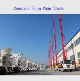El carro concreto de la bomba del auge, resuena carro de la bomba concreta