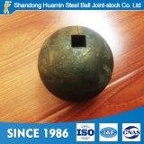 Geschmiedete hohe Härte-reibende Stahlkugel 20mm bis 150mm bildete von 60mn 65mn B2 Material B3 und B4