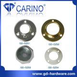Wandschrank-Garderoben-Gefäß-Schienen-Kreisflansch-Aufhängung; Eisen-oder Zink-Legierungs-Gefäß-Grundplatte *Iron Halter