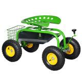 Carro do assento do trabalho do jardim/do assento jardim do rolamento/assento removível