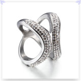 Anillo del campanero de la joyería del acero inoxidable de señora Fashion (SR186)