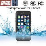 Nueva cubierta hermética al polvo a prueba de choques impermeable del caso para el iPhone 6 4.7 pulgadas