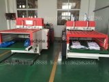 Automatischer Hochgeschwindigkeitsbeutel des Shirt-Ybhq-450*2, Maschine produzierend