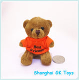 Animal bonito Keychains de Keychain do urso da peluche