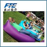 Sac de couchage paresseux gonflable de course de sofa d'air