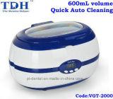 limpiador ultrasónico dental de la limpieza auto rápida 600ml (VGT-2000)