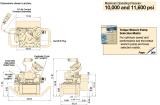Originele Enerpac pta-Reeksen, de Compacte Pneumatische Pomp van de Moersleutel van de Torsie