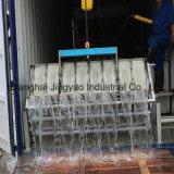 2t dirigem a máquina de alumínio refrigerando do fabricante do bloco de gelo da placa