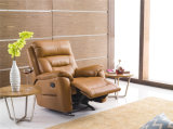 居間の本革のソファー(C782)