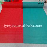Shaggy Fußboden-Teppich des purpurroten Farben-super weichen Garn-1200d