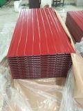 Gewölbte Dach-Blatt-Stahlrolle, die Maschine bildet