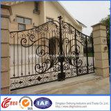 Cancello galvanizzato decorativo della proprietà del metallo