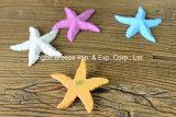 Decorazione delle stelle marine della resina della casa di natale dell'annata