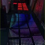 나이트 클럽 디스코 LED 댄스 플로워 단계 점화