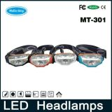 AABattery CREE LED Headlight Operated Lightest Weight LED Headlamp mit High Lumen (MT-301)