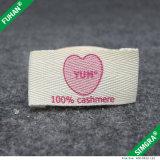 専門デザインカスタム有機性綿のラベル