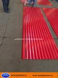Strato/cgi del tetto del ferro galvanizzato colore ondulato