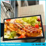 옥외 태양 강화된 광고 가벼운 상자 프레임