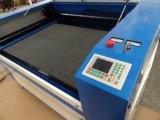 Fábrica de China de cortador do laser do CNC para a estaca de madeira da tela