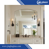 specchio di alluminio di verde di 4mm della parte posteriore del bronzo a doppio foglio della pittura per la stanza da bagno