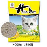 Santé neuve de citron du bentonite 2016 et litière du chat de groupement dure