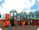 Campo de jogos ao ar livre da corrediça de Playsets das crianças para a venda HD-Tsa003