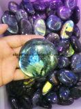 Regalos Naturales, la piedra preciosa semi manualidades, masaje con piedras, Piedra Ornamento, Ágata Drusy <Esb01639>