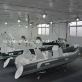 Liya 17ft Motor Electric Boat Rigid Hull Hypalon Boat für Sale