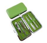 7PCS в ноготь внимательности ногтя комплекта Manicure комплекта установленный Scissors искусствоо ногтя набора Manicure инструмента Manicure & наборы Manicure салона