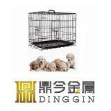 Cage noire neuve de maison d'animal familier
