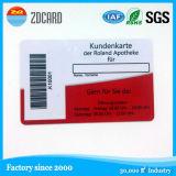 Cartão passivo da etiqueta do PVC do controle de acesso RFID do baixo preço