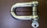 索具のハードウェアのための頑丈な炭素鋼JIS標準Dの手錠