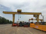 10トンLタイプ電気ウィンチのトロリーガントリークレーン工場製造業者