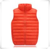 Das crianças da veste do ganso revestimento do inverno para baixo com do estofamento o revestimento ultra leve para baixo