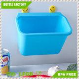 容器の箱のアクセサリの食器棚のドア取付けられたプラスチックハングのくずかごのゴミ箱のゴミ箱をホームにリサイクルすること