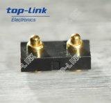 2p FlachPogo Pin-Verbinder mit der Unterbringung für SMT