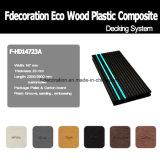 Decking en plastique en bois du composé WPC de bande de phosphore